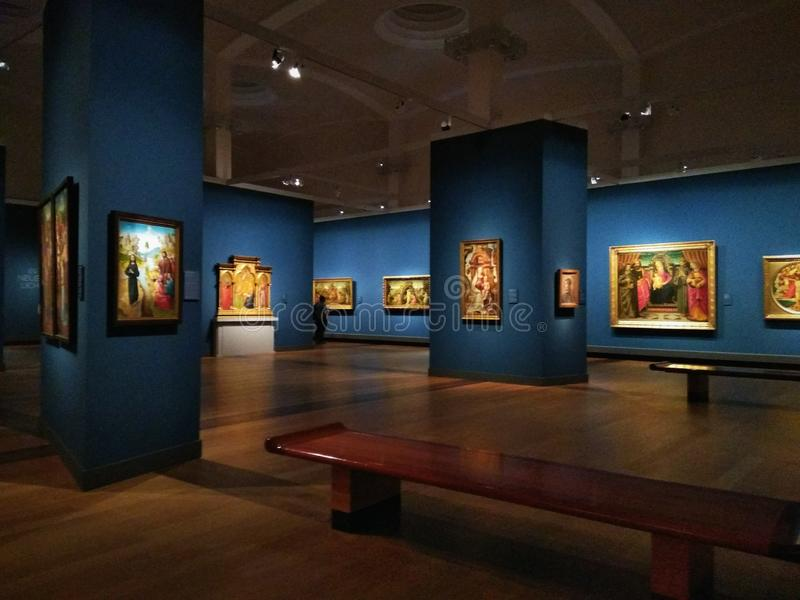 Gemäldegalerie Берлин стоковая фотография rf