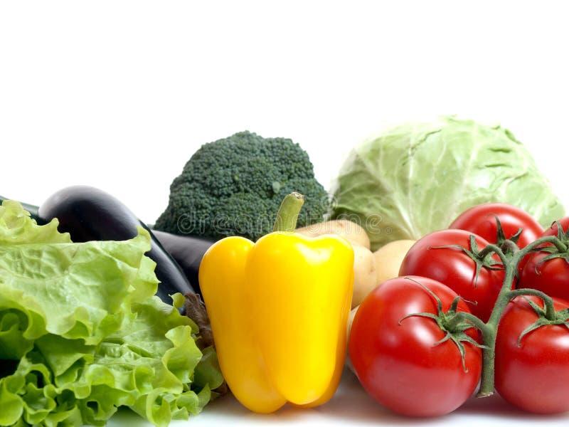 Download Gemüse stockbild. Bild von weiß, kohl, kopfsalat, farbe - 26353887