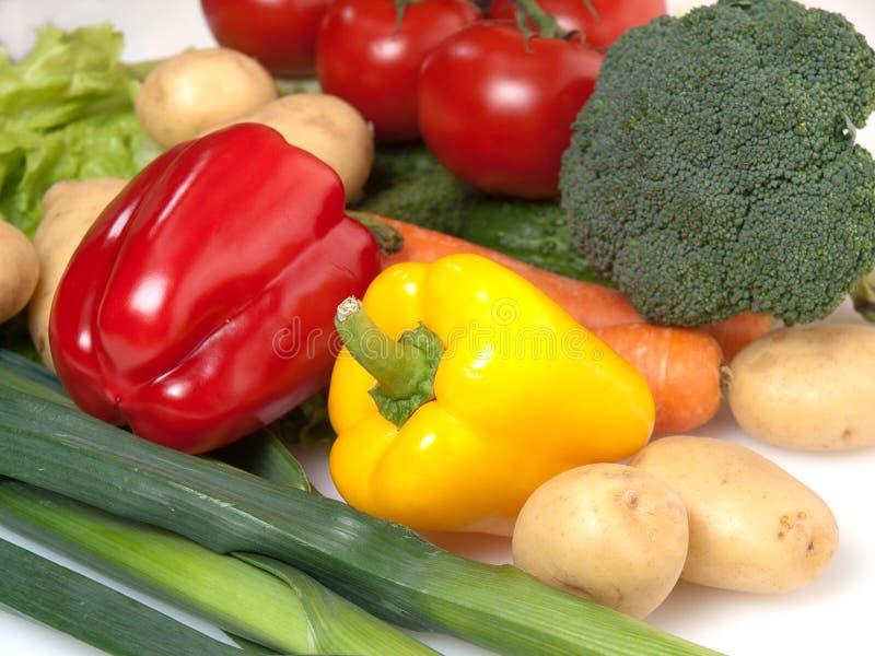 Download Gemüse stockbild. Bild von überfluß, kopfsalat, lauch - 26353907