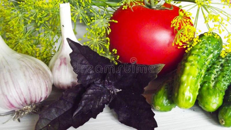 Gemüse für Bewahrung stockbilder