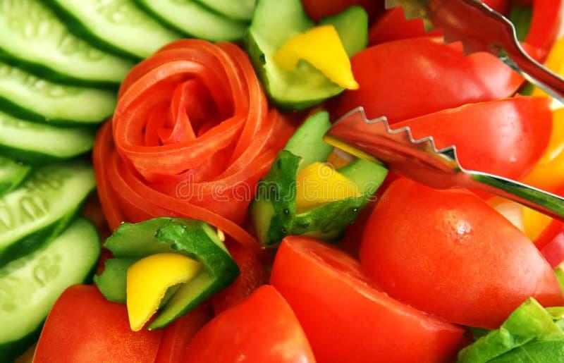 Gemüse für Salat stockfoto