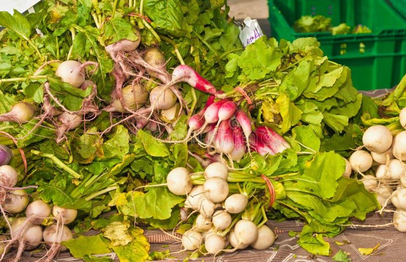 Gemüse für Verkauf stockbild