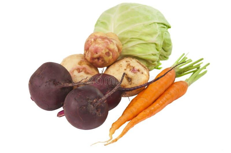 Gemüse getrennt lizenzfreies stockfoto