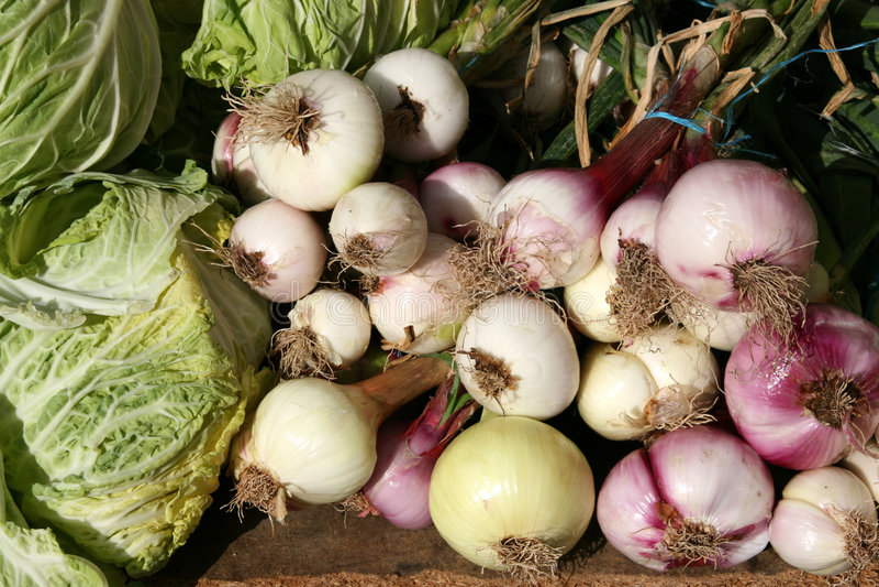 Gemüse am Marktplatz stockfoto