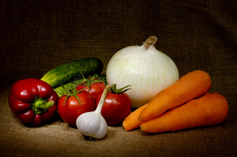 Gemüse-noch Leben stockfotos