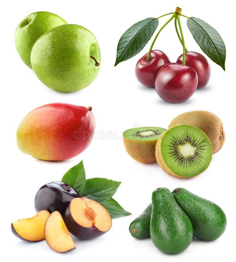 Gemüse und Fruchtansammlung lizenzfreies stockfoto