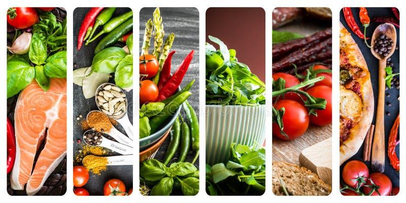 Gemüse und Gewürzwurstpizza stockbilder