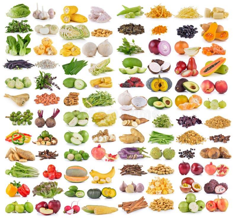 Gemüse und grians stockbild