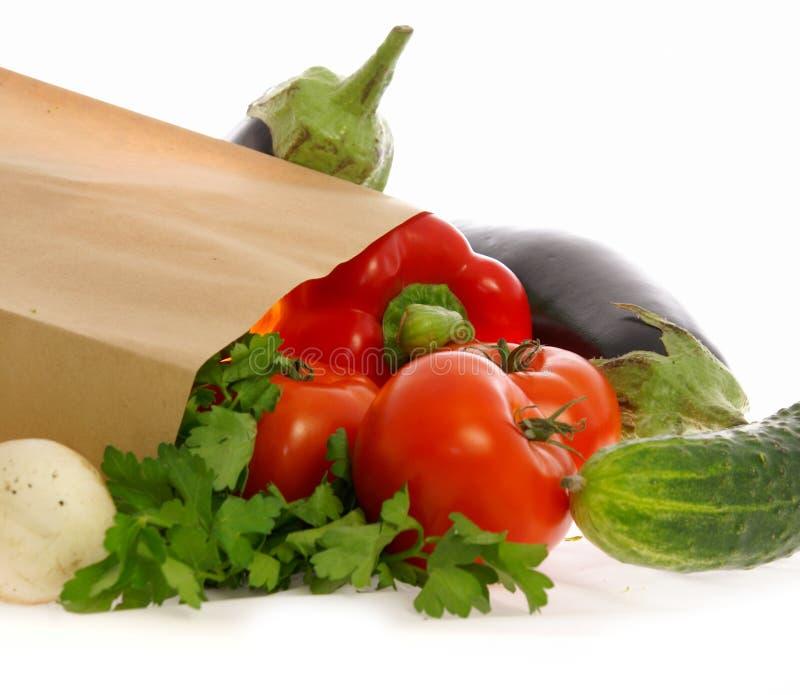 Gemüse und Pilze lizenzfreie stockbilder