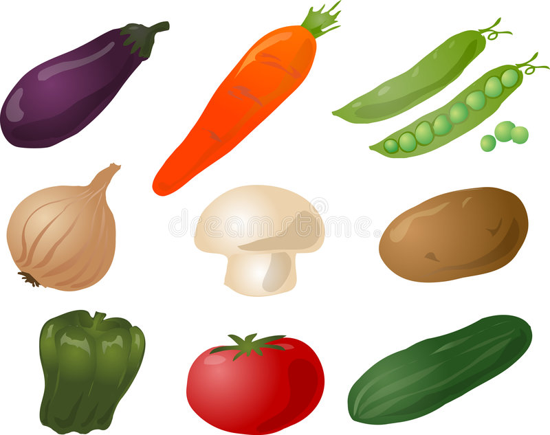 Gemüseabbildung stock abbildung
