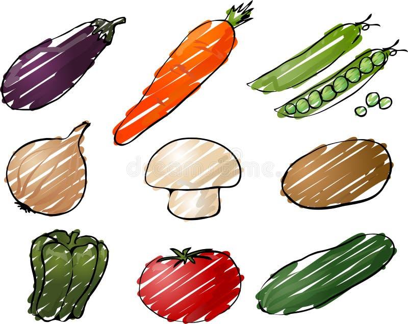 Gemüseabbildung vektor abbildung