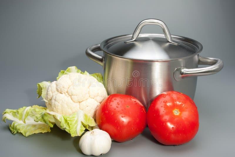 Gemüsec$nochlebensdauer lizenzfreies stockbild