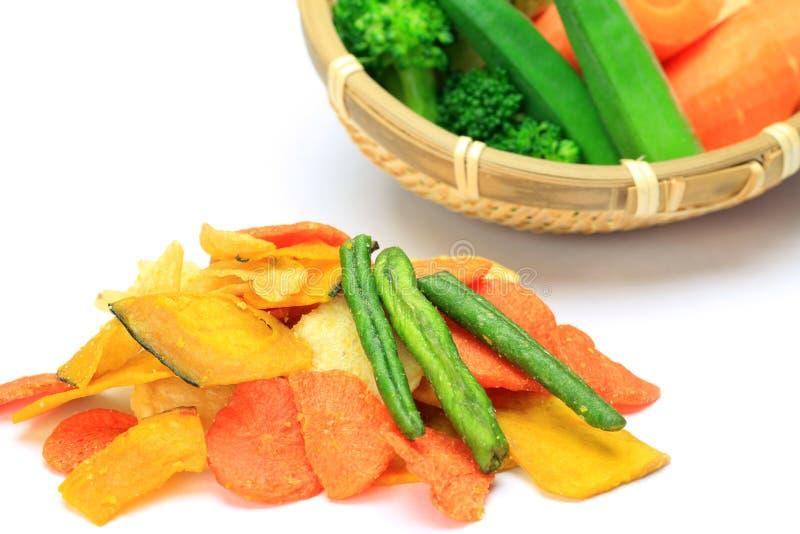 Download Gemüsechip stockfoto. Bild von weiß, gemüse, kürbis, nahrung - 26361976