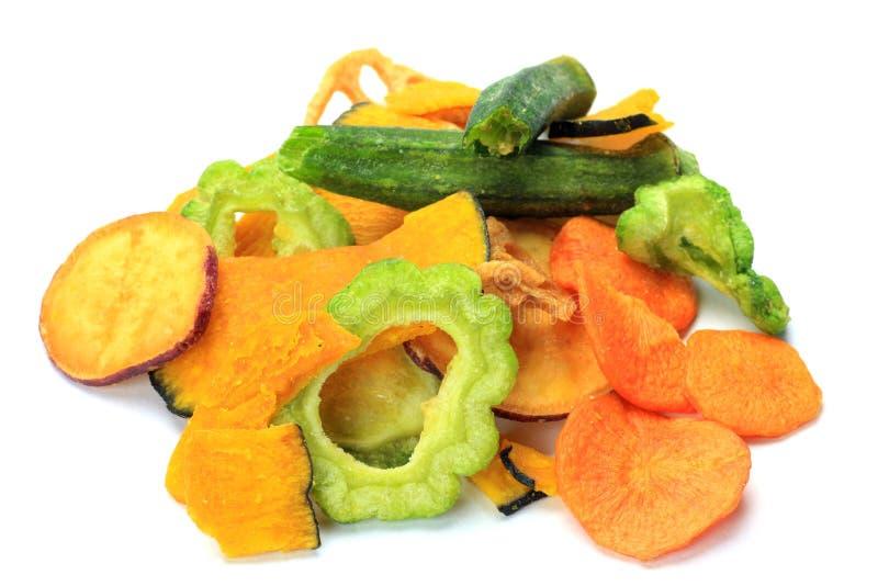 Gemüsechips stockfotografie