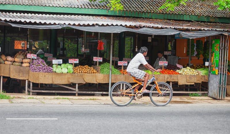 Gemüsemarkt im Freien lizenzfreie stockfotos