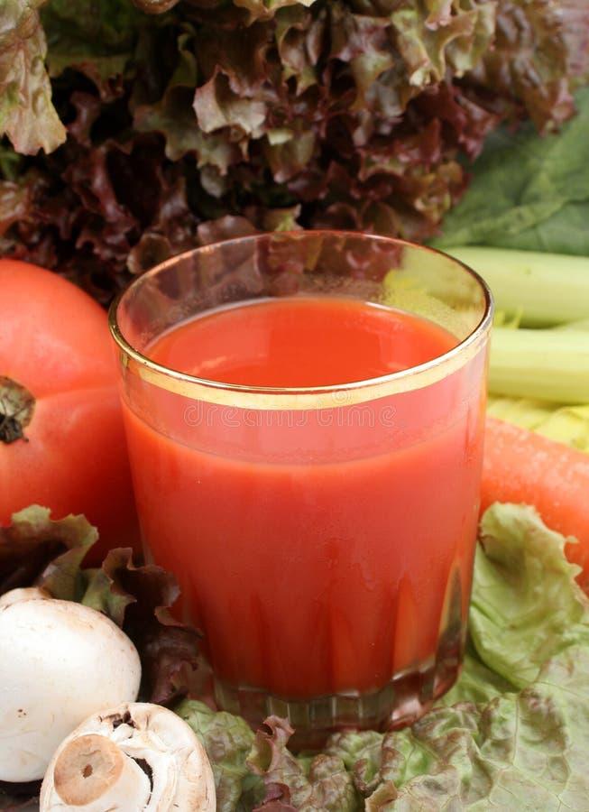 Gemüsesaft stockfotografie
