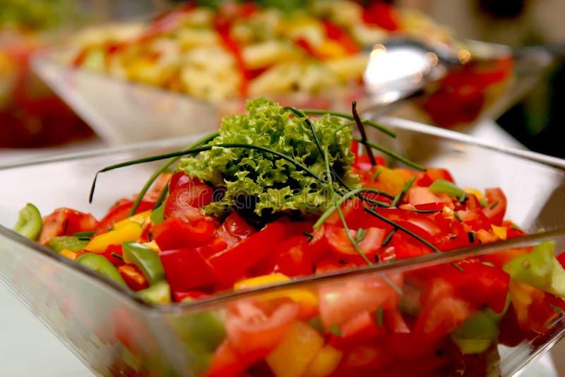 Gemüsesalat stockbild
