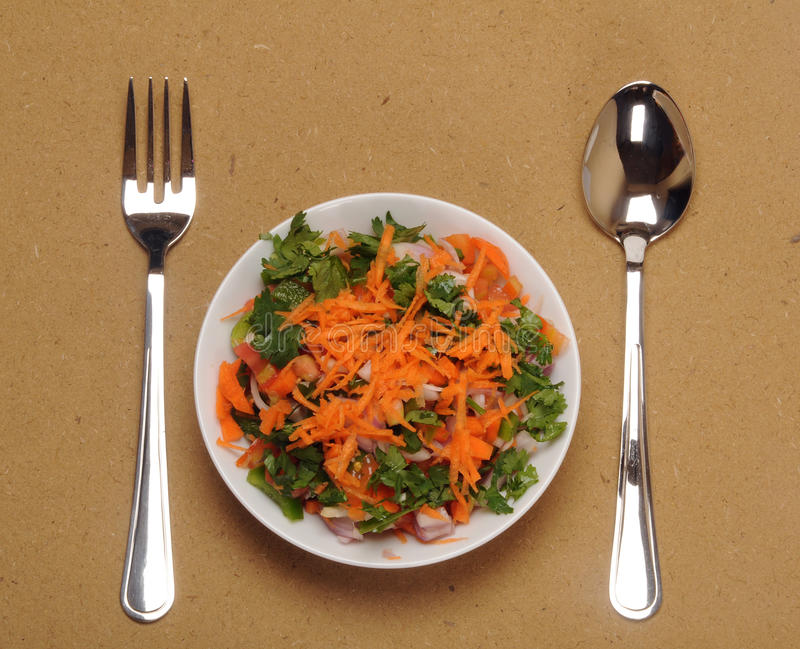 Gemüsesalat lizenzfreie stockbilder