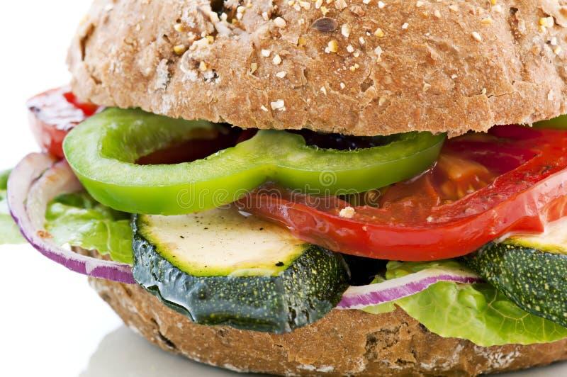 Gemüsesandwich stockfoto