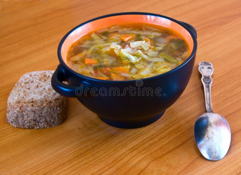 Gemüsesuppe lizenzfreie stockfotografie