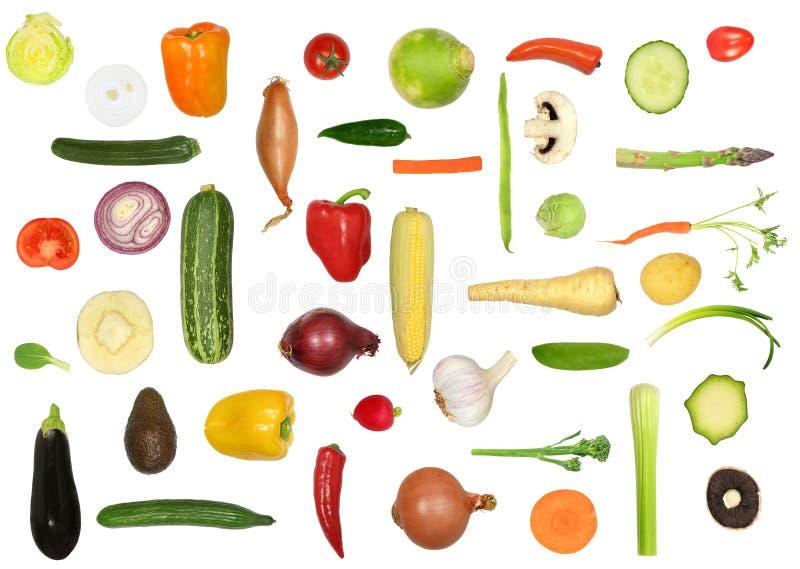 Gemüsevielzahl lizenzfreies stockfoto