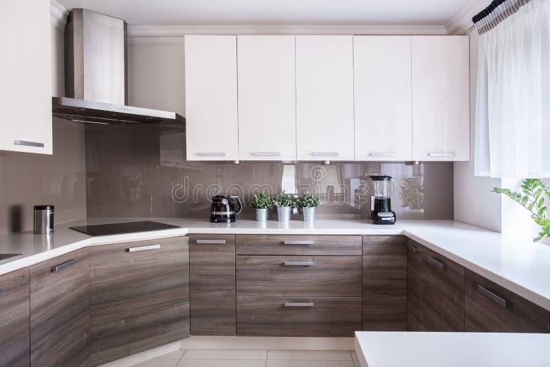 Küche Beige gemütliche beige küche stockbild bild küche luxus 55750901