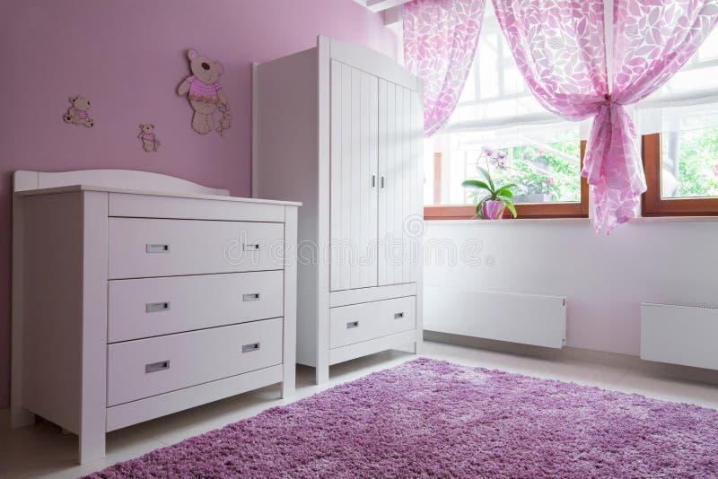 Gemütlicher Raum für Mädchen lizenzfreies stockfoto