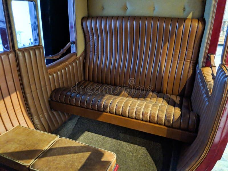 Gemütlicher Stagecoach-Komfort lizenzfreies stockfoto