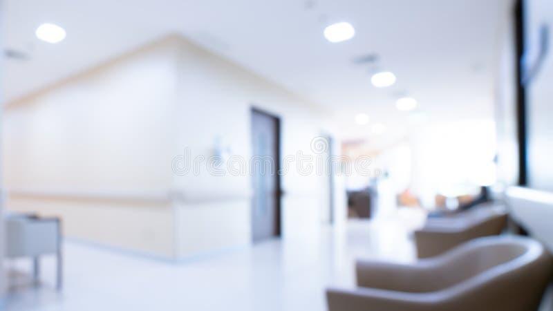 Gemütlicher Wartebereich im Krankenhaus stockfotografie