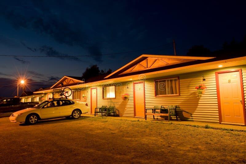 Gemütliches Motel stockfotos