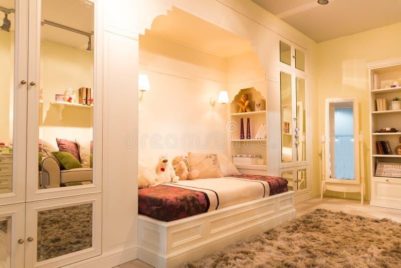 Gemütliches Schlafzimmer stockfotos