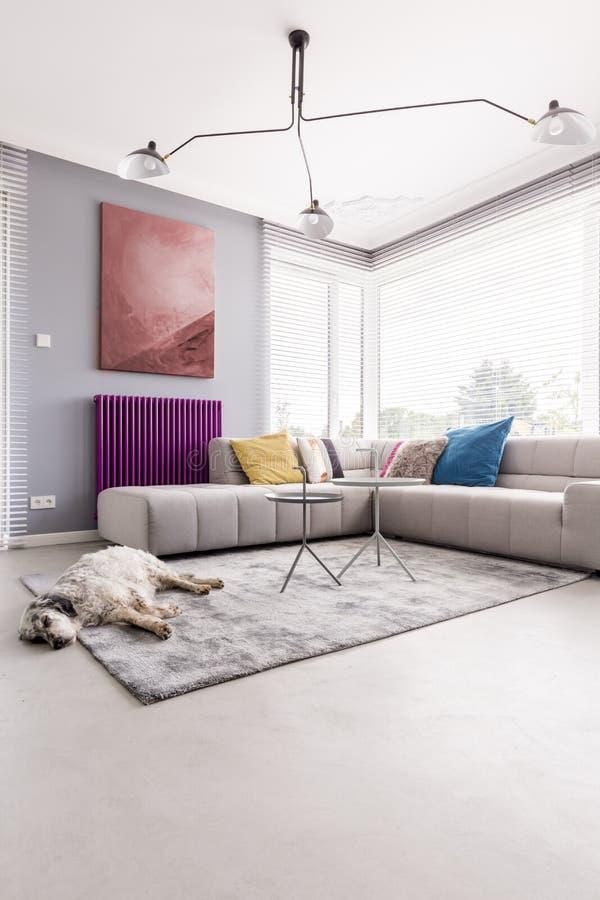Gemütliches Wohnzimmer lizenzfreies stockfoto
