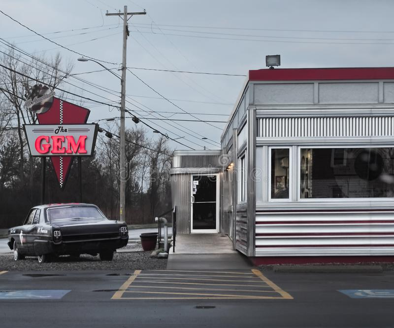 Gem Diner fotografie stock libere da diritti