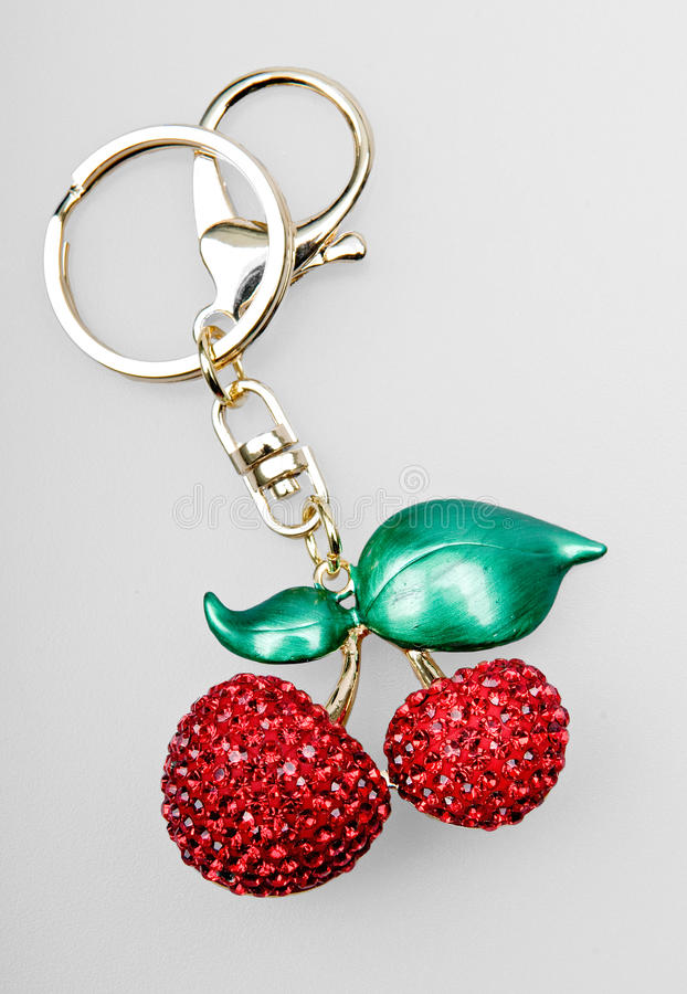 Gem keychain. To do to bring luck to people royalty free stock photography