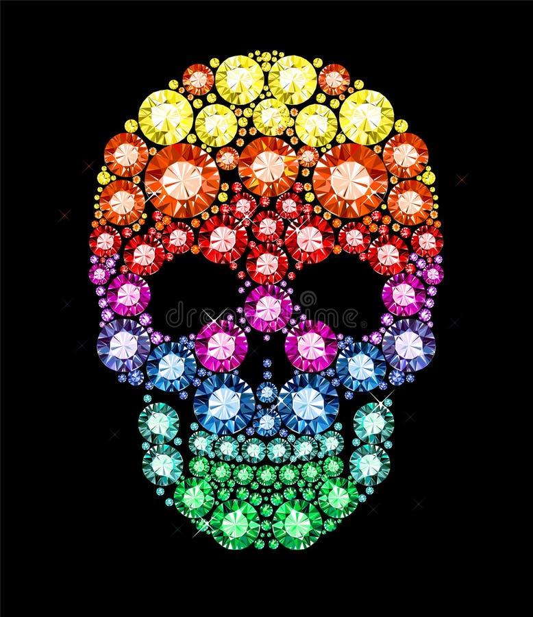 Free Gem Skull Royalty Free Stock Images - 36716529