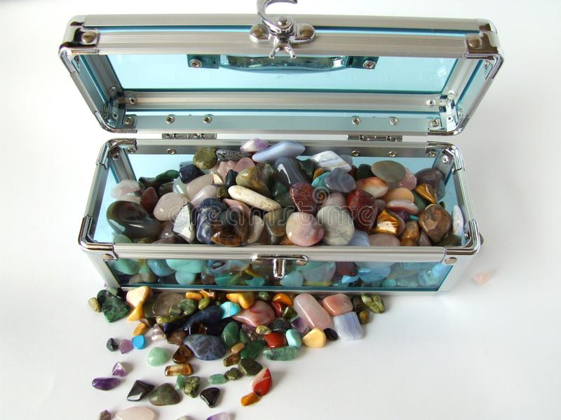 Download Gem treasure chest stock photo. Image of gems, nature - 1894276