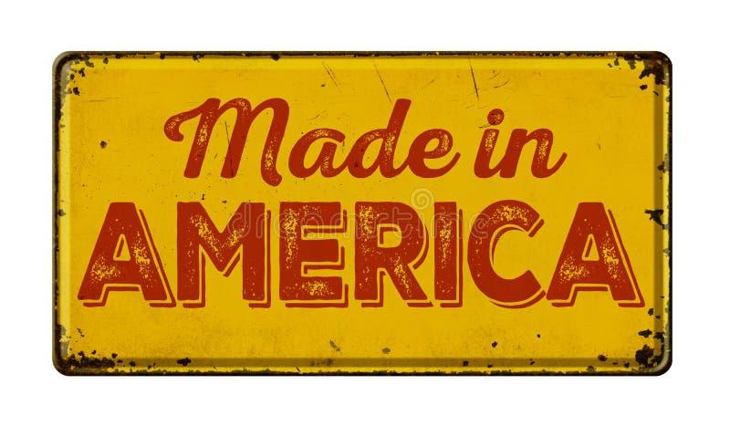Gemaakt in Amerika stock foto