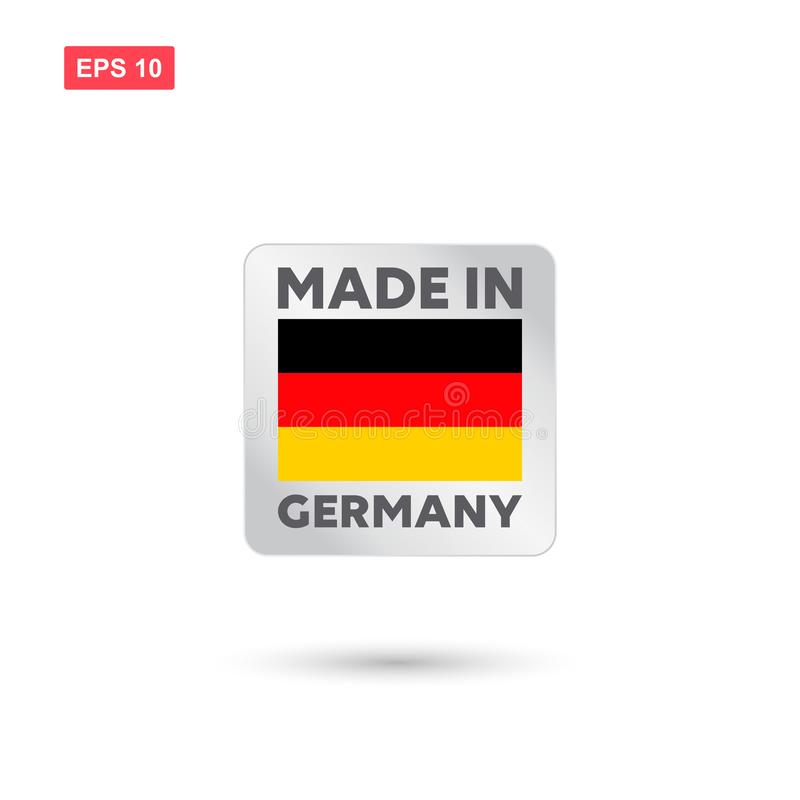 Gemaakt in de vector van Duitsland vector illustratie