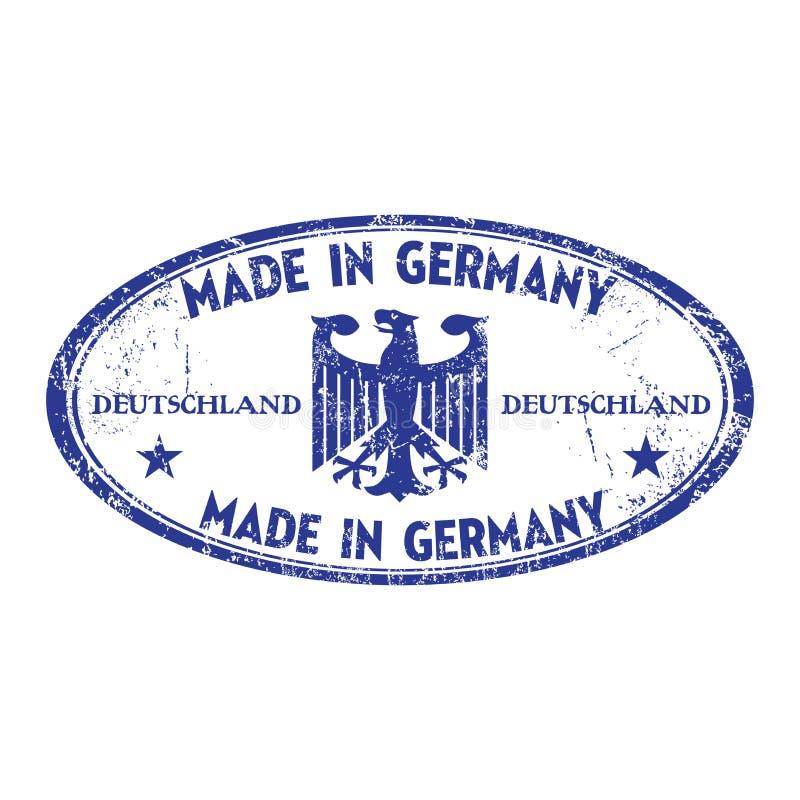 Gemaakt in Duitsland royalty-vrije illustratie