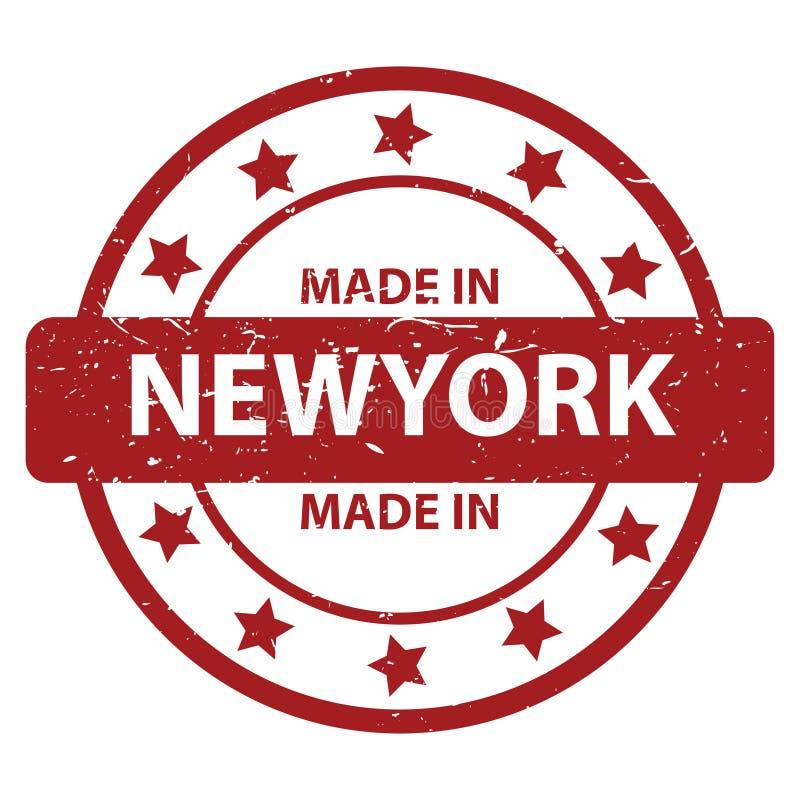 Gemaakt in New York royalty-vrije stock afbeelding