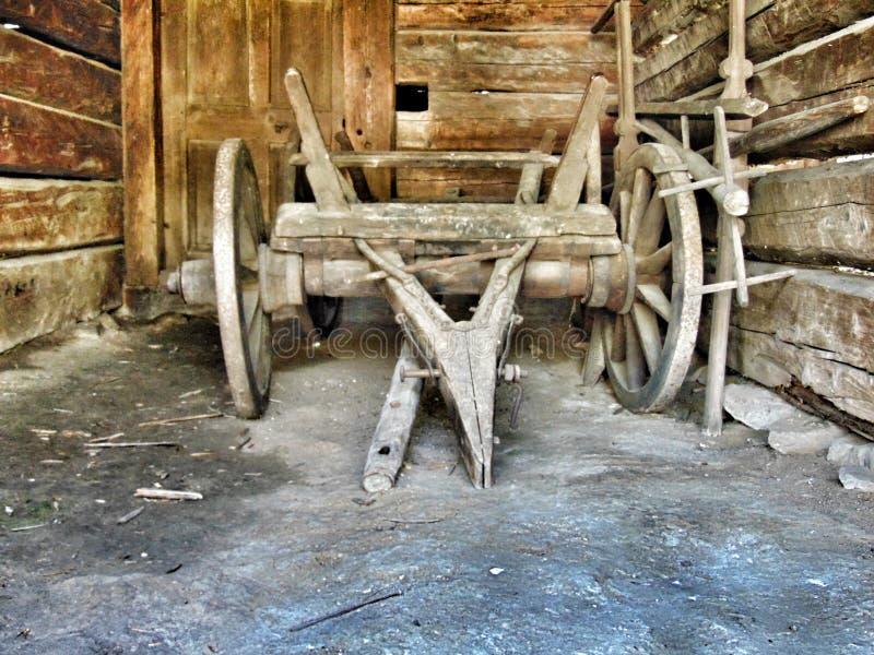 Gemaakt van hout stock foto