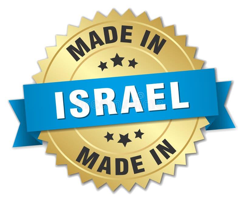 gemacht in Israel-Ausweis vektor abbildung