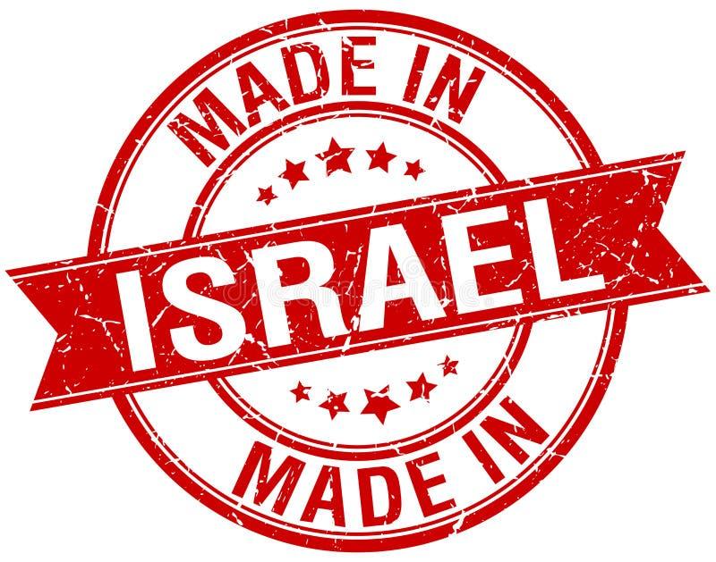 Gemacht in Israel-Stempel vektor abbildung