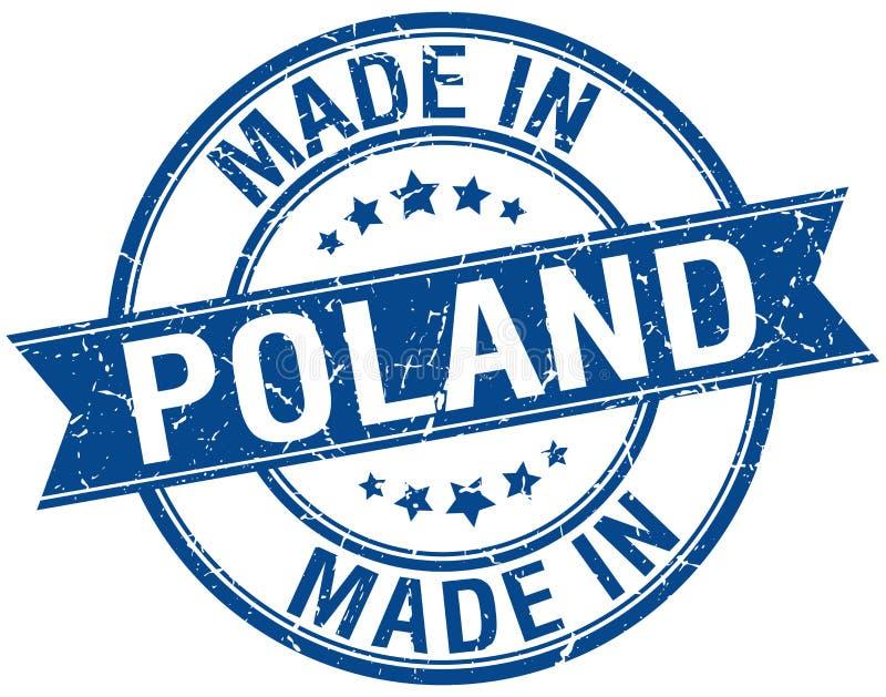 Gemacht in Polen-Stempel vektor abbildung