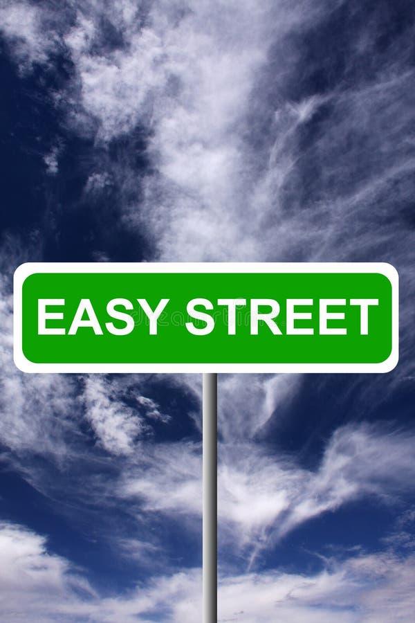 Gemakkelijke straat stock illustratie