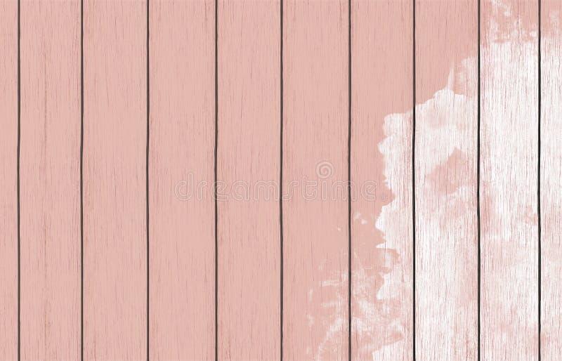 Gemalte hölzerne Hintergrundtapete mit Farbfarbe lizenzfreie stockfotografie