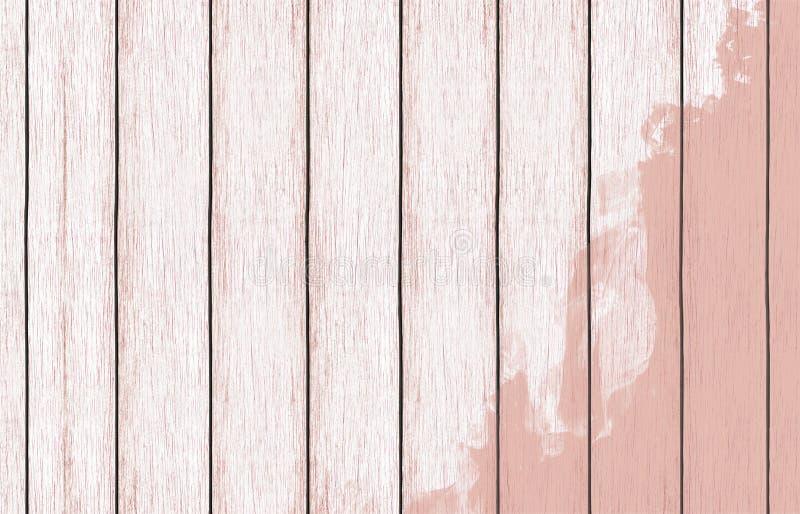 Gemalte hölzerne Hintergrundtapete mit Farbfarbe lizenzfreie stockfotos