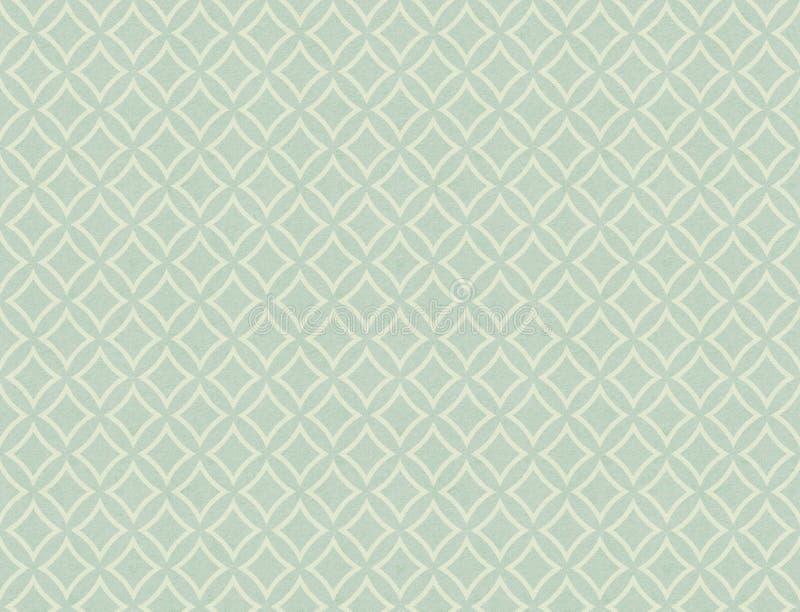 Gemalte Retro- Tapete in den Pastellfarben vektor abbildung