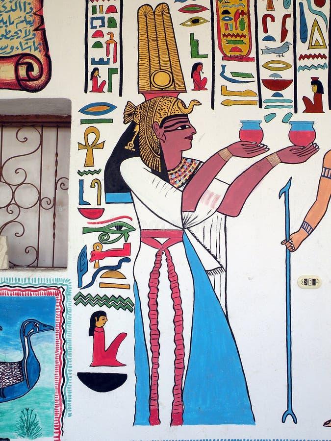 Gemalte Wand stockbild