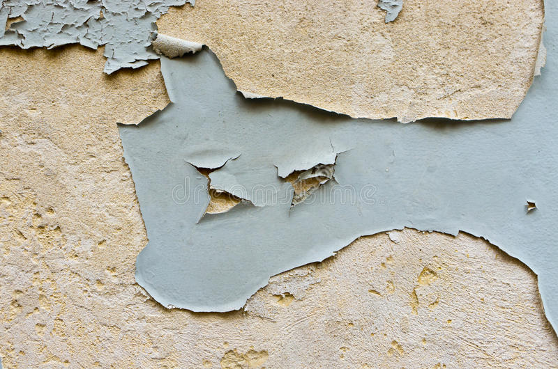 Gemalte Wand lizenzfreies stockfoto